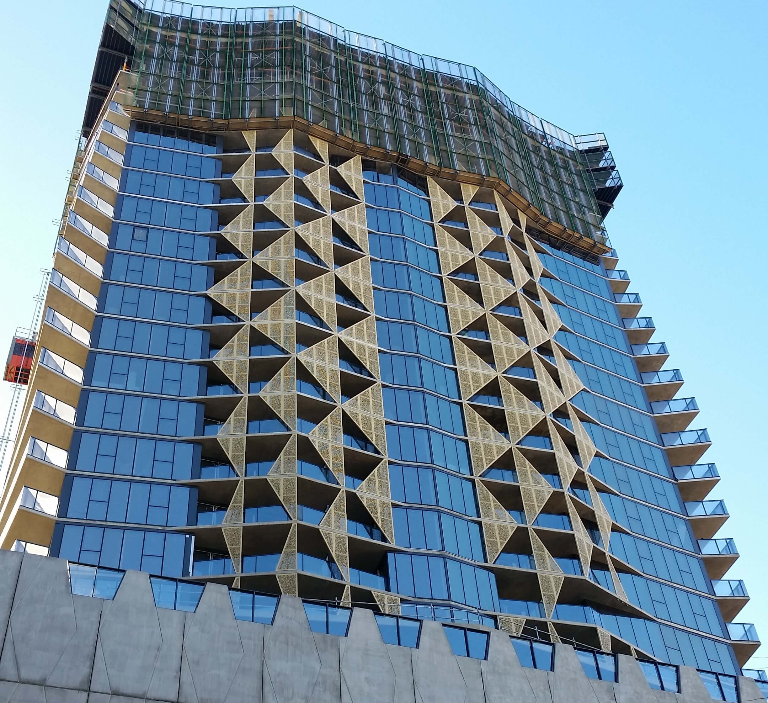 Asurco roofing and cladding at the realm